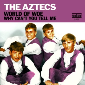The Aztecs Re-Release Cover